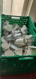 vintage cups and saucers job lot