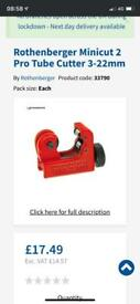 Rothenberger pipe cutter in tools