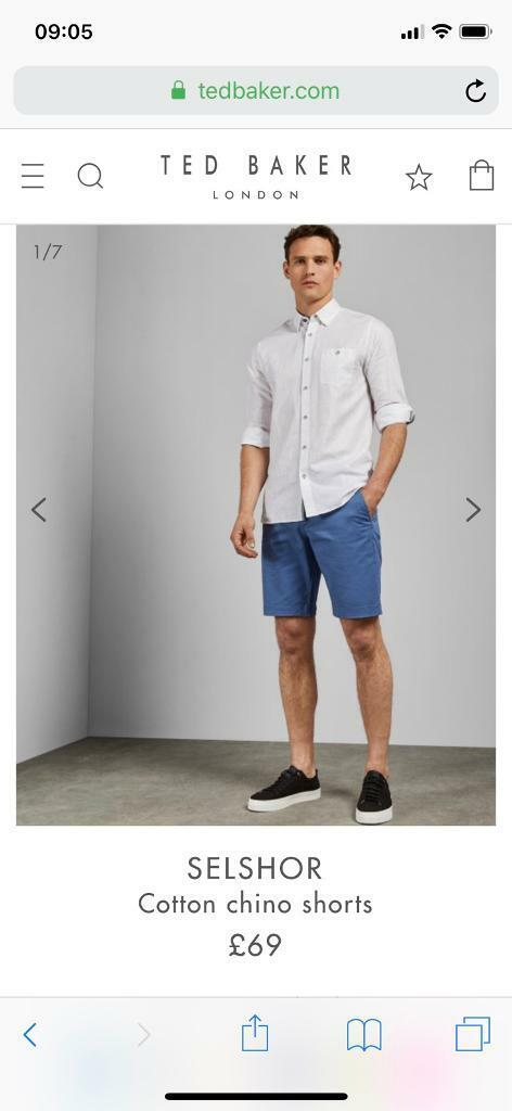 7786727b Shorts TED BAKER 30R for sale | in Reading, Berkshire | Gumtree