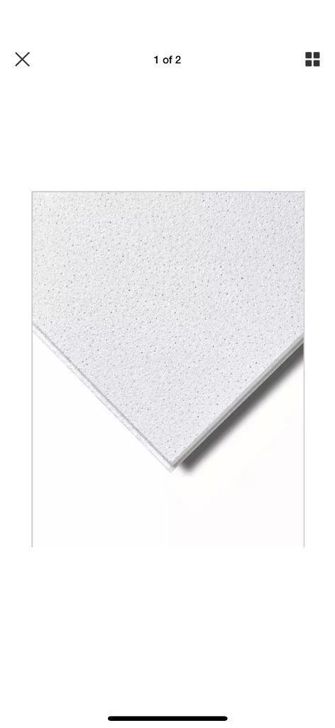 Dune Supreme Ceiling Tile Microlook Bp2274 600x600 16pc In