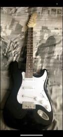 Johnny Brook Electric Guitar (Black)