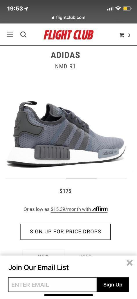 d48a95fe03842 Adidas Originals NMD R1 (bb1355) JD Exclusive mens trainers