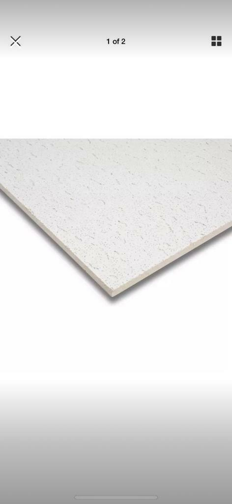 Armstrong Tatra Board Bp958m 600 X 600mm Square Edge Ceiling Tiles