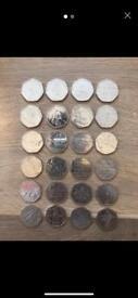 Job lot 50p coins - Some RARE!!!
