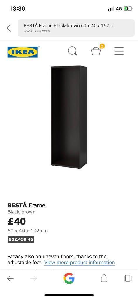 Ikea Besta Frame Ads Buy Sell Used Find Right Price Here