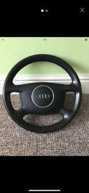 Audi A4 B6 Steering Wheel - Will fit other Audi's