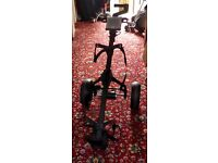 Power Caddy electric trolley, needs new battery.