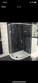 Shower Enclosure & Tray 1200x900