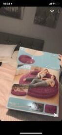 Intex blow up bed