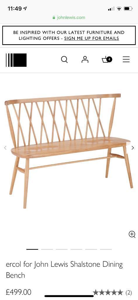 c22e774ecd Ercol bench original perfect condition!