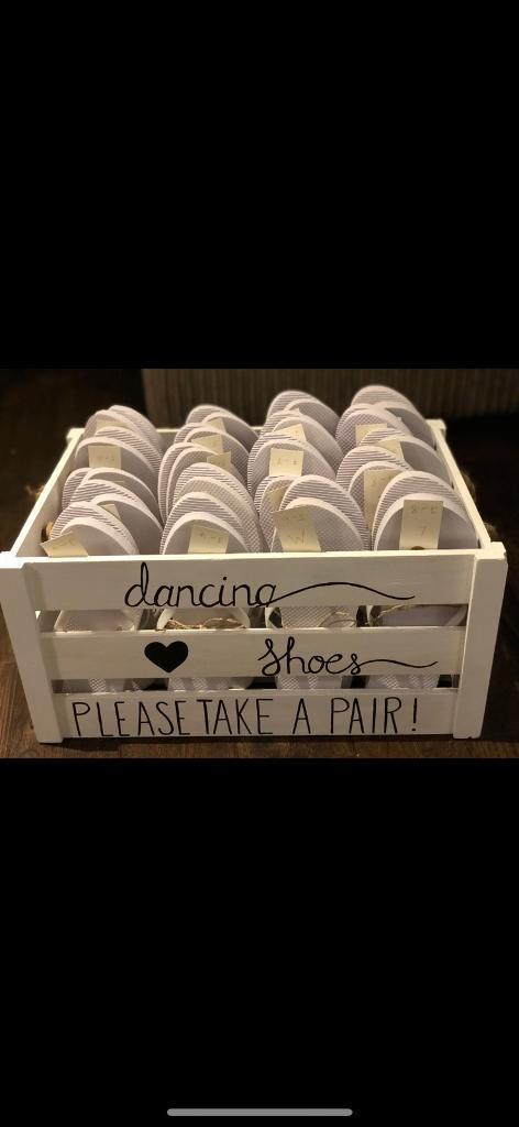 c71bc5c044960f Wedding Flip Flop Crate