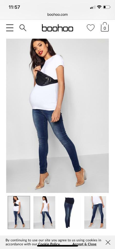 4f86f0b97ba95 Size 10 boohoo maternity jeans | in Canterbury, Kent | Gumtree