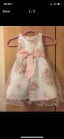 Beautiful children's floral dress for sale