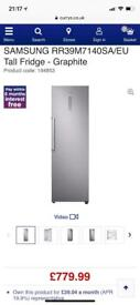 Samsung tall fridge