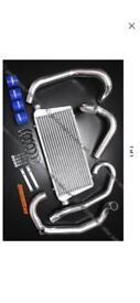 Subaru Impreza gc8 autobahn 88 front mount intercooler