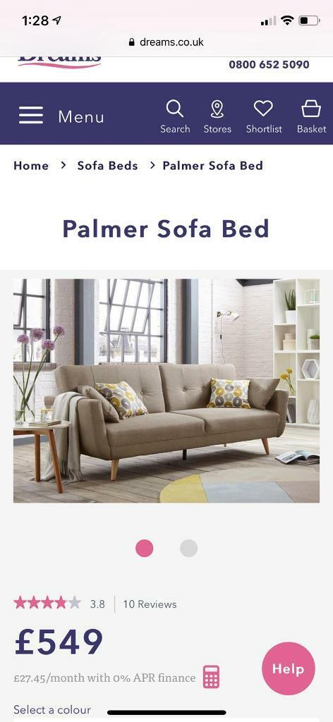 Terrific Brand New Modern Sofa Bed 75 Off In Islington London Gumtree Download Free Architecture Designs Scobabritishbridgeorg