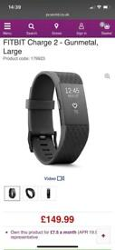 Fitbit charge 2 gunmetal edition