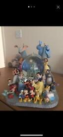 Limited edition Disney snow globe