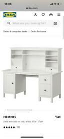 IKEA Hemmes dressing table and storage unit