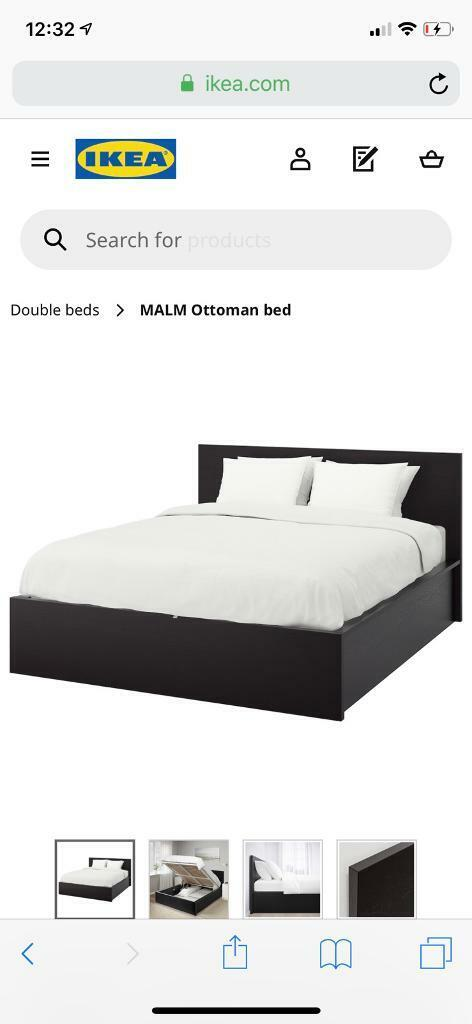 Magnificent Malm Bed In West Kingsdown Kent Gumtree Andrewgaddart Wooden Chair Designs For Living Room Andrewgaddartcom