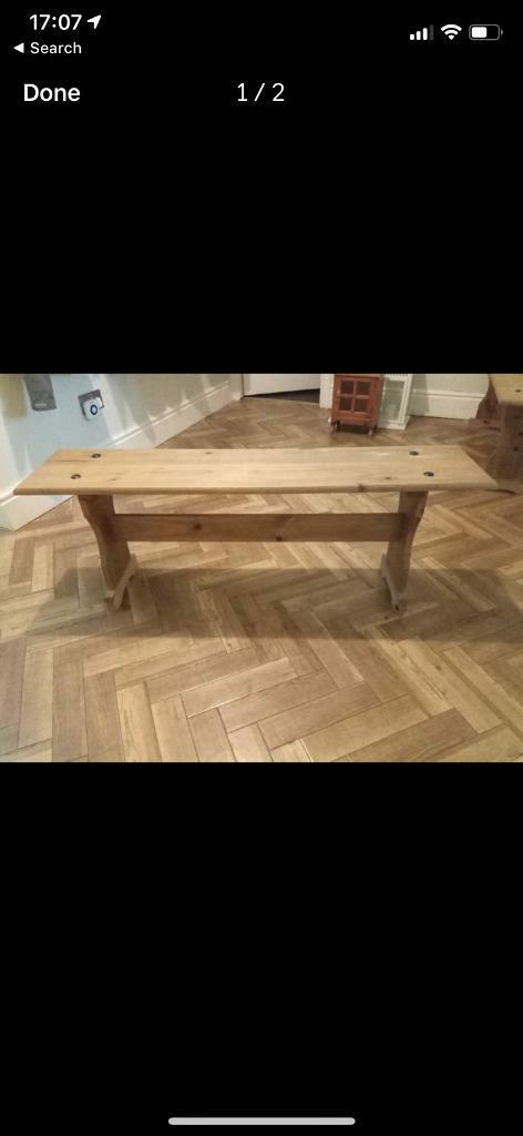Incredible Wooden Bench In Old Swan Merseyside Gumtree Gmtry Best Dining Table And Chair Ideas Images Gmtryco