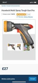 Hozelock multi spayer garden tools