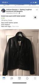 Brand new Paul smith leather jacket