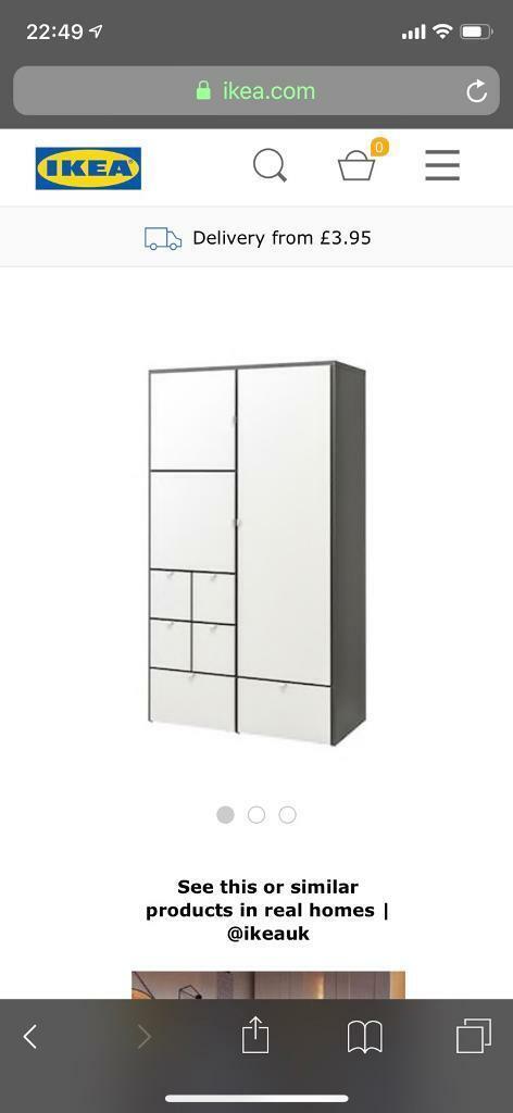 Ikea Visthus Wardrobe In Yelverton Devon Gumtree