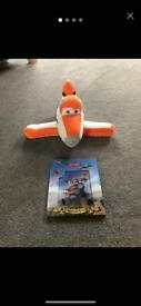 Disney Planes plush toy and book