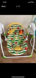 Mothercare Baby Swing New