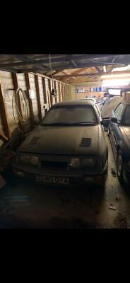 1987 (D) FORD SIERRA RS COSWORTH 3 DOOR MOONSTONE BLUE BARN FIND HPI CLEAR!!!
