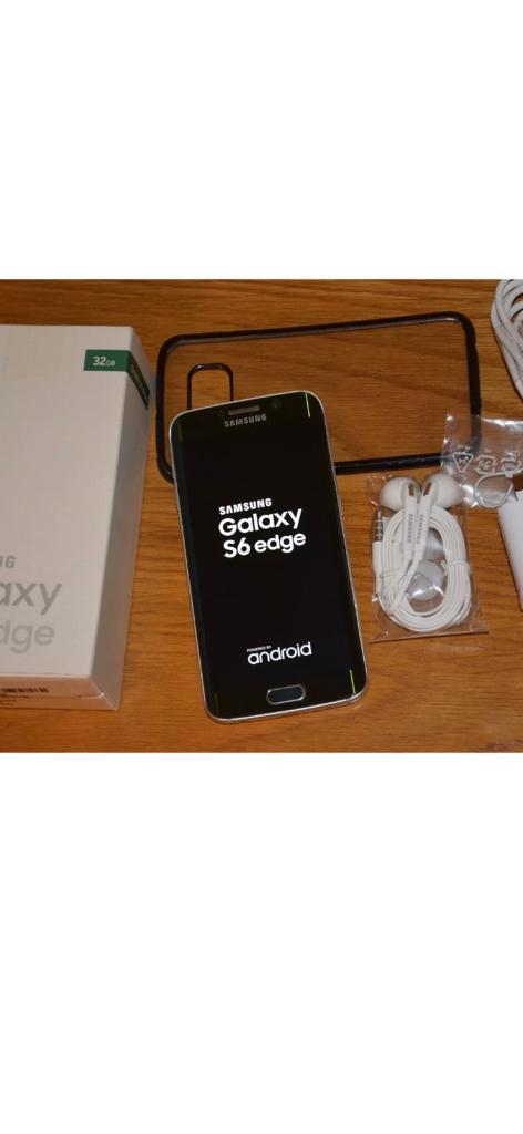 Samsung galaxy S6 edge-32GB-Unlocked to any network