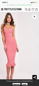 Tight fit midi dress