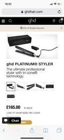 NEW GHD Platinum Straighteners