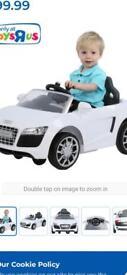 Kids battery car (sit in)