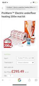 Prowarm Underfloor Heat Mat 200w 9m square