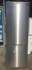 SIEMENS large stainless steel fridge freezer £150 free delivery good condition
