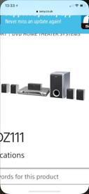 Sony Dav DZ 111 surround sound