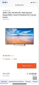 Tv Sony Bravia 50inch 4K HDR
