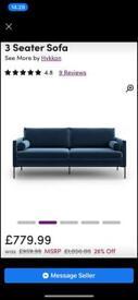 Wayfair sofa 3 seater *NEW*