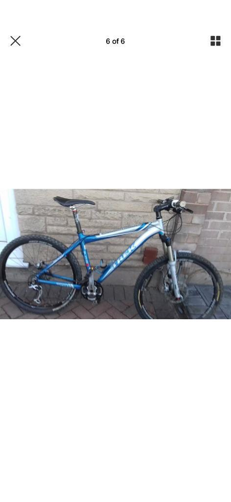 "Trek 8000 lightweight hardtail mountain bike 17.5"" high spec   in ..."