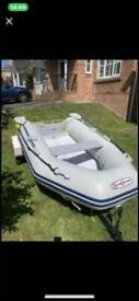 Rib and outboard may swap for van