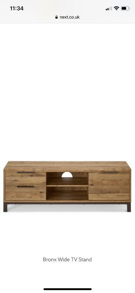huge selection of 97aa9 b4023 Next Bronx Wide TV Stand - Oak Effect | in Worsley, Manchester | Gumtree