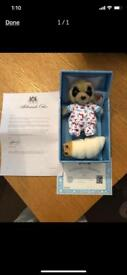 Baby Oleg toy with certificates