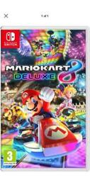 Mario kart 8 deluxe for Nintendo switch played once