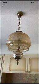 Ceiling light retro/vintage from the 70s vgc