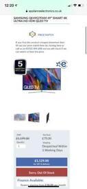 Samsung QLED 4K 49 inch tv
