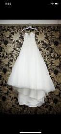 Wedding dress by Tom Flowers £450 O.N.O