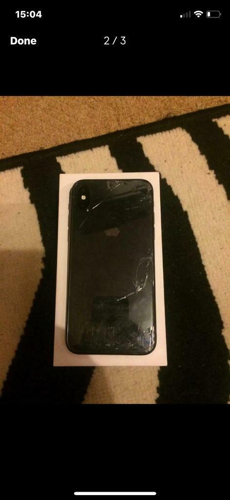 size 40 ba032 01cad Apple iPhone X quick sale we 64GB cracked front and back | in Taunton,  Somerset | Gumtree