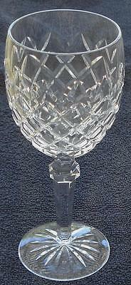 Waterford Crystal Powerscourt Water Goblet - Cut Crystal - VGC - GREAT PIECE Crystal Crystal Water Goblet